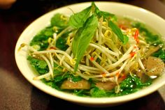 """The spicy lemongrass pho at <a href=""""http://www.phovietwdc.com/"""" target=""""_blank"""">Pho Viet</a>:"""