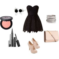 Uptown Funk by bekah-abigail on Polyvore featuring H&M, Bling Jewelry and Too Faced Cosmetics