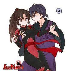 Miroku catches Sango in his arms from Inuyasha Inuyasha, Miroku, Fanart, Narusaku, Me Me Me Anime, Mobiles, Character Art, Anime Art, Manga