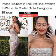 Get into it! #TraceeEllisRoss  @traceeellisross #GoldenGlobes #BlackGirlsRock