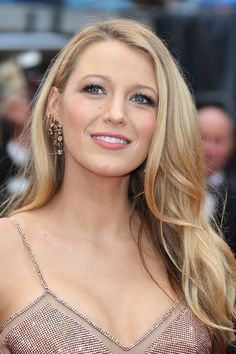 Blake Lively's Golden Blonde - MarieClaire.com
