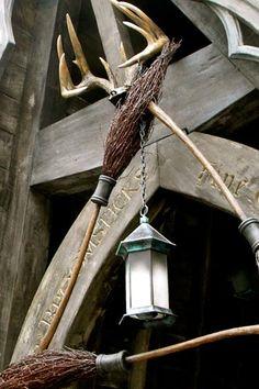 The Three Broomsticks restaurant in The Wizarding Word of Harry Potter in Universal Studios Islands of Adventure in Orlando, Florida (U. S.)