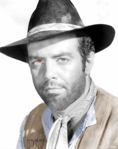 Medium publicity shot of Pernell Roberts as Chocktaw Neal wearing hat/cowboy. Turner Classic Movies, Classic Tv, Bonanza Tv Show, Pernell Roberts, Western Film, Tv Westerns, Rare Images, Picture Movie, Face Men