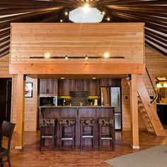 A Yurt, with a loft! Yurtz By Design is Canada's yurt manufacturer, offering superior quality and service. Yurt Living, My Living Room, Tiny Living, Coastal Living, Living Area, Outdoor Living, Yurt Loft, Eclectic Kitchen, Yurts