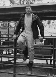 Chris Pratt - InStyle Magazine Sept. 2016