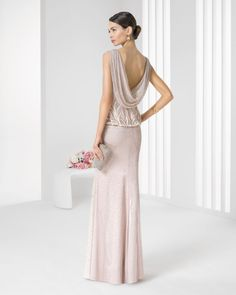 Vestidos de FIESTA de ROSA CLARÁ con las últimas tendencias al respecto. Vestidos de fiesta Rosa Clará Otoño Invierno 2016-2017