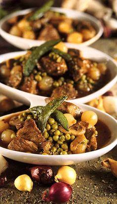 Mijoté de veau aux petits légumes