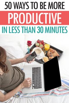 Super simple tips to fixing your productivity in less than 30 minutes. Improve your ability to get stuff done. #timemanagement #productivity #healthyhabits #routine #dailyroutine #lifehacks Time Management Strategies, How To Stop Procrastinating, Increase Productivity, Work Life Balance, Organizer, Getting Things Done, Healthy Habits, Business Tips, Making Ideas
