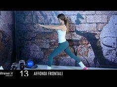 GAG - Gambe - Addominali - Glutei - Allenamento 15 Minuti - YouTube
