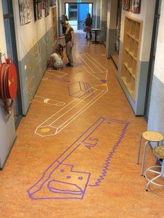 Street art in schools