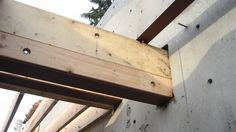 Image result for steel beam wood joist connection