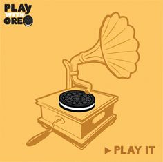 Spin it … Scratch it … Record it...But definitely #PlayIt #PlaywithOreo