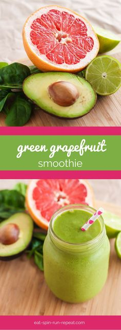 Wake up feeling less than rested? This Green Grapefruit Smoothie, infused with citrus and chilled green tea will give you plenty of energy to start the day off strong.