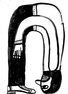 Bendy Man by Norfolk Oak