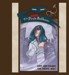 The Pirate Balthasar - BLOG: Lost and Found - Cover