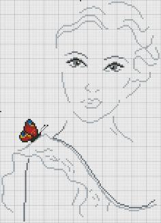 Met gekleurde vlinder 4