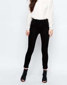 Image 1 ofOnly High Waist Skinny Jeans