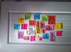 This is my kind of closet door! Motivation Wall, Fitness Motivation, Motivational Board, Im Sad, New Start, Shut Up, Motivation Inspiration, Fitspiration, Studying