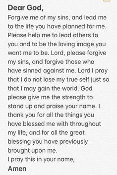 My prayer ❤️ Prayer Scriptures, Bible Prayers, Catholic Prayers, Faith Prayer, God Prayer, Prayer Quotes, Bible Verses Quotes, Faith In God, Spiritual Quotes