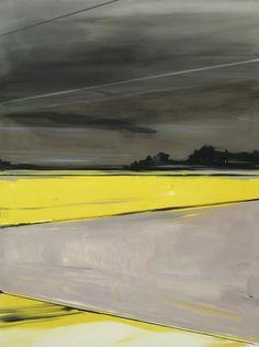"""Matthieu van Riel; Oil 2011 Painting """"Dutch landscape"""""""