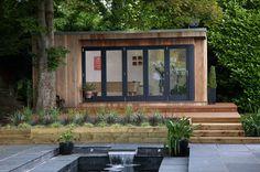 Tuinkantoor - tuinhuis - guesthouse via a-tuinhuis