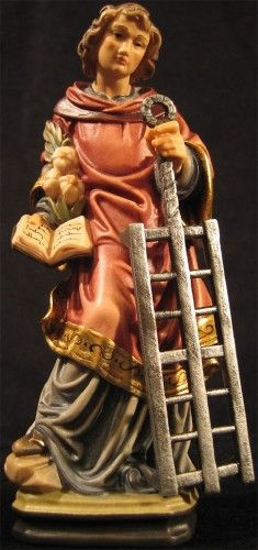 """Saint Lorenzo Patron Saint of Cooks - A post we prepared and down by the comments you can find many resellers of the statue that was featured in the Diane Lane Movie """"Under the Tuscan Sun"""" from 2003 Patron Saints, Catholic Saints, Roman Catholic, The Saint, St Lawrence Martyr, Saint Lorenzo, Italian Renaissance Art, Under The Tuscan Sun, St Joseph"""