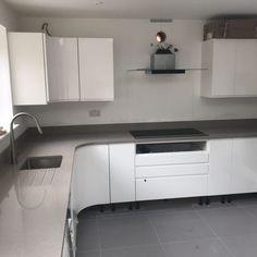 Magnifico De Lusso- Stevenage, Herts - Rock and Co Granite Ltd Stevenage, L Shaped Kitchen, Natural Light, Granite, Kitchen Cabinets, Color, Design, Home Decor, Style