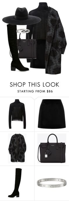 """""""Untitled #1471"""" by emmalovesclothes20 ❤ liked on Polyvore featuring TIBI, Marc Jacobs, Zara, Yves Saint Laurent, women's clothing, women's fashion, women, female, woman and misses"""