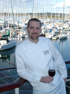 """Executive Chef Jeff Keenliside is once again making Oak Bay's Marina Restaurant his home base. """"We are absolutely delighted that Executive Chef Jeff Keenliside has come home to the Marina Restaurant,"""" said manager Jen Gidora Marina Restaurant, Bay News, Executive Chef, Homecoming, Chef Jackets, I Am Awesome, Base, Cooking, Kitchen"""