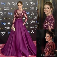 Cheap purple prom, Buy Quality prom dresses 2016 directly from China purple prom dress Suppliers: vestido de festa Long Sleeve Dark Purple Prom Dress 2016 See though Lace Appliques Evening Gowns Party Dresses vestido longo Long Sleeve Evening Dresses, Ball Gowns Evening, Cheap Evening Dresses, Ball Gowns Prom, Tulle Prom Dress, Mermaid Prom Dresses, Prom Party Dresses, Party Gowns, Bride Dresses