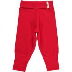 Pants rib, red, Maxomorra