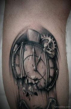 34 Best Broken Clock Tattoo Images Broken Clock Tattoo Clock