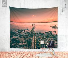 Decorate your wall with this beautiful and popular wall tapestry by HappyMelvin.  - available three sizes 51 x 60 , 68 x 80 , 88 x 104 - ALL SIZES