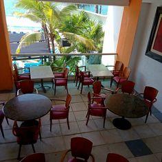 Restaurante Acuario, área de fumar