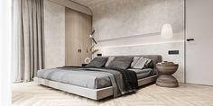 Interior Architecture, Interior Design, Futuristic, Behance, Contemporary, Bed, House, Scene, Rooms