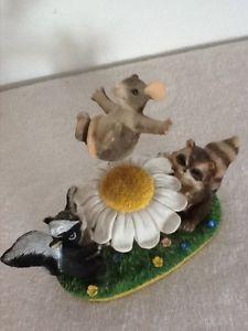 Charming Tails  THE Blossom Bounce  83 704 Figurine Fitz Floyd | eBay