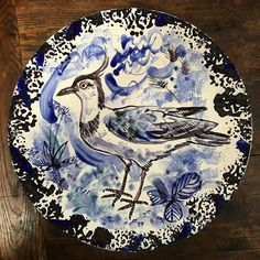 A platter by @mark_hearld, to be exhibited at our forthcoming show @yspsculpture, Editions & Objects, from the end of June until the end of October.