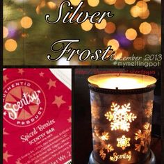 Silver Frost warmer and Spiced Berries scent available TODAY and priced at 10% off!! Get yours before it sells out! http://themeltingpot.scentsy.us