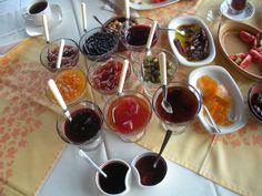 Ada reçelleri Chocolate Fondue, Cherry, Fruit, Desserts, Food, Tailgate Desserts, Deserts, Essen, Postres