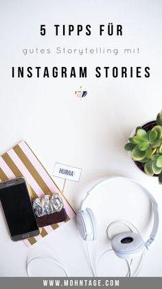5 Tipps für Instagram Stories