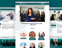 "Check out new work on my @Behance portfolio: ""Página web - Chacón Abogados"" http://on.be.net/1LWIDc0"