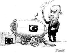 11/28/16 Petar Pismestrovic - Kleine Zeitung, Austria - Munition - English - Erdogan, Turey, EU, Europe, refugees, war, ISIS, terror