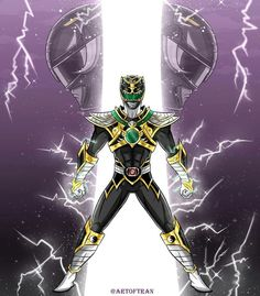 Hybrid of Zack and who/what? Power Rangers Fan Art, Power Rangers Cosplay, Ranger Armor, Pawer Rangers, Green Ranger, Hero Time, Mega Evolution, Mighty Morphin Power Rangers, Cultura Pop
