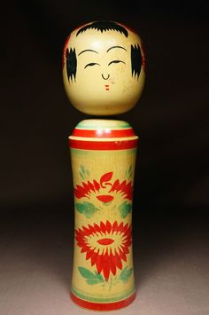 nice little doll made in 1980 by  Matsuda Hatsumi (1901-1989) the 1st of his in my collection