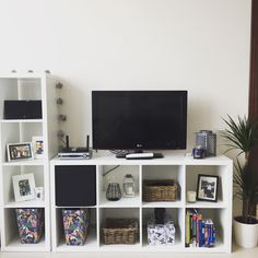 IKEA KALLAX tv unit