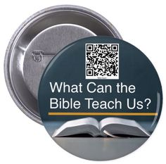 """JW.org from 1 ea to 20 pc.  bundle buttons.  """"PIONEER gift""""  pin. 2.25 pin 2016 QR code  """"what can the bible teach us"""" by Tiagoscustom on Etsy https://www.etsy.com/listing/462682412/jworg-from-1-ea-to-20-pc-bundle-buttons"""
