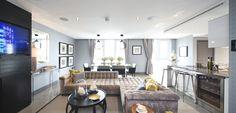 Barratt London's luxury penthouse in Altitude - 35 Whitechapel High Street Aldgate  London