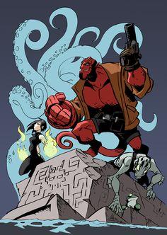 My name is Hellboy by NachoMon.deviantart.com on @deviantART