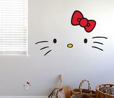 Blik x Hello Kitty Wall Decals: Faces