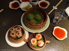 Delicious Dim sum at a Michelin starred Chinese restaurant, Yauatcha - London. Dim Sum, London Blog, Michelin Star, Chinese Restaurant, Fine Dining, Restaurants, Curry, Asian, Meals